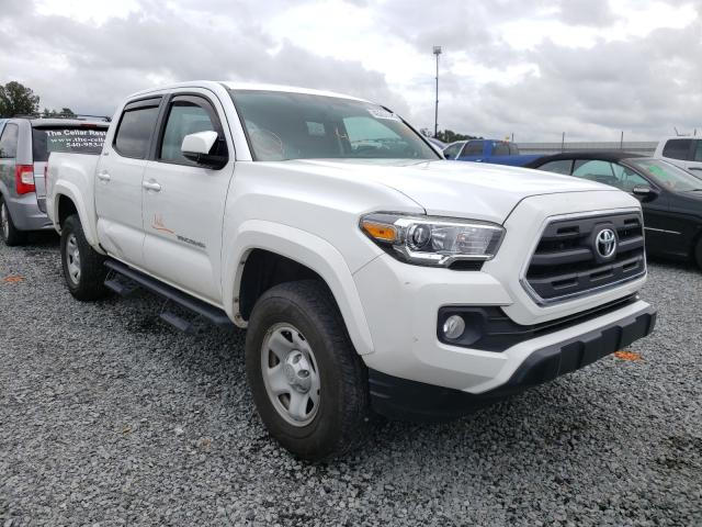 Salvage cars for sale from Copart Lumberton, NC: 2017 Toyota Tacoma DOU