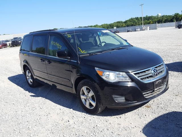 Salvage cars for sale from Copart Leroy, NY: 2011 Volkswagen Routan SE