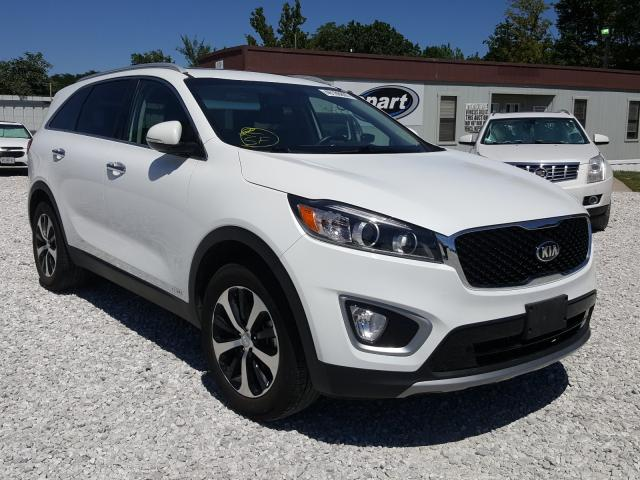 KIA salvage cars for sale: 2017 KIA Sorento EX