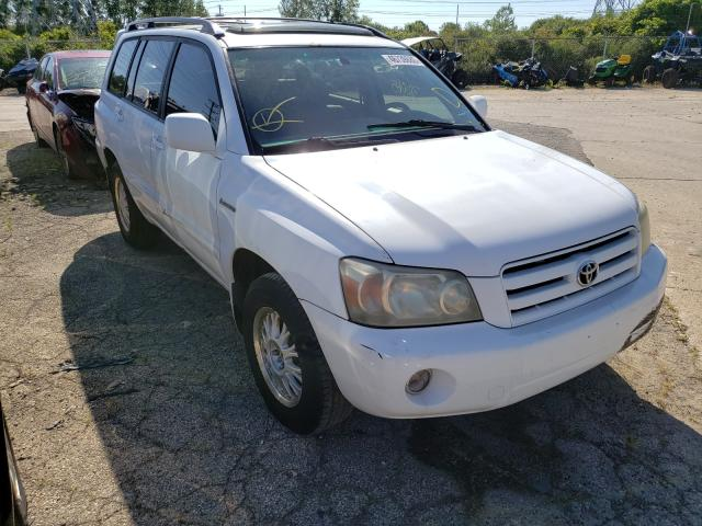 Salvage cars for sale from Copart Wheeling, IL: 2005 Toyota Highlander