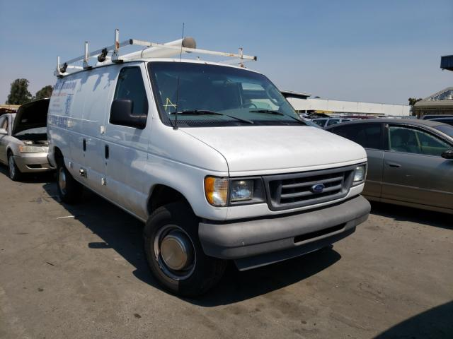 Salvage cars for sale from Copart Hayward, CA: 2003 Ford Econoline