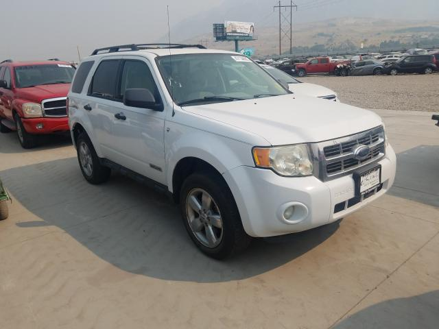 Ford Escape XLT salvage cars for sale: 2008 Ford Escape XLT
