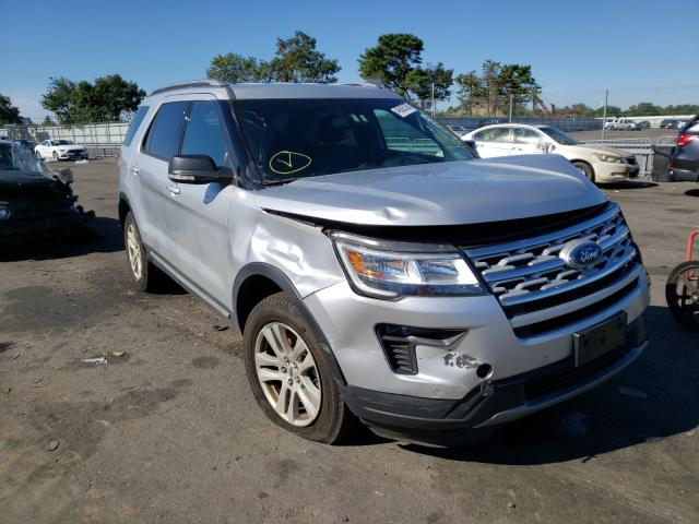 Salvage cars for sale at Brookhaven, NY auction: 2018 Ford Explorer X