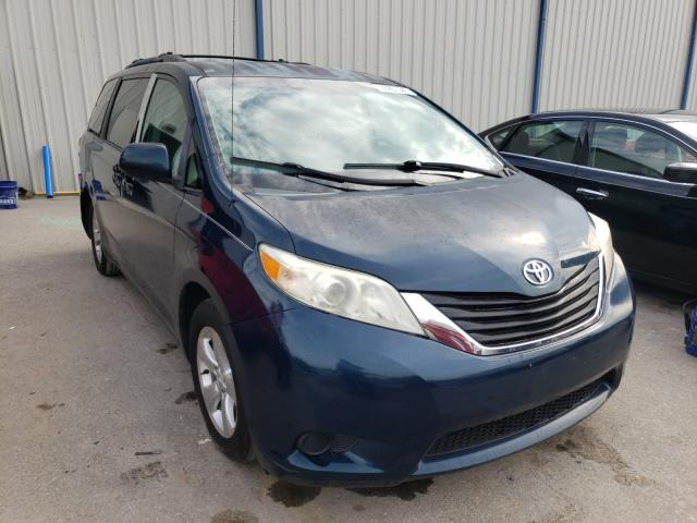 Salvage cars for sale from Copart Apopka, FL: 2011 Toyota Sienna LE