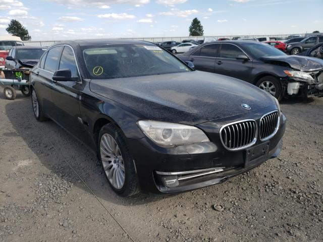 BMW salvage cars for sale: 2013 BMW 740 LI