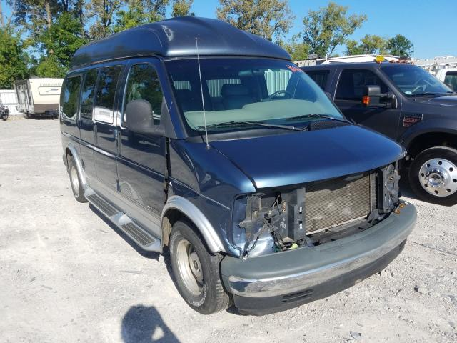 Chevrolet Express G1 salvage cars for sale: 1998 Chevrolet Express G1