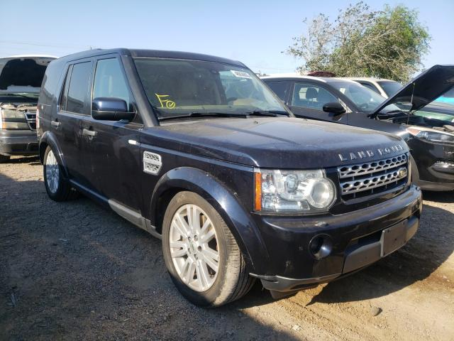 Salvage cars for sale from Copart Mercedes, TX: 2010 Land Rover LR4 HSE LU