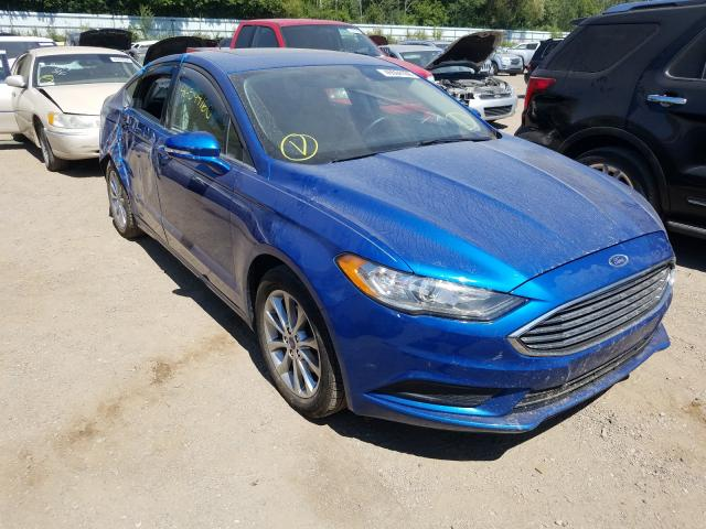 Ford Fusion salvage cars for sale: 2017 Ford Fusion