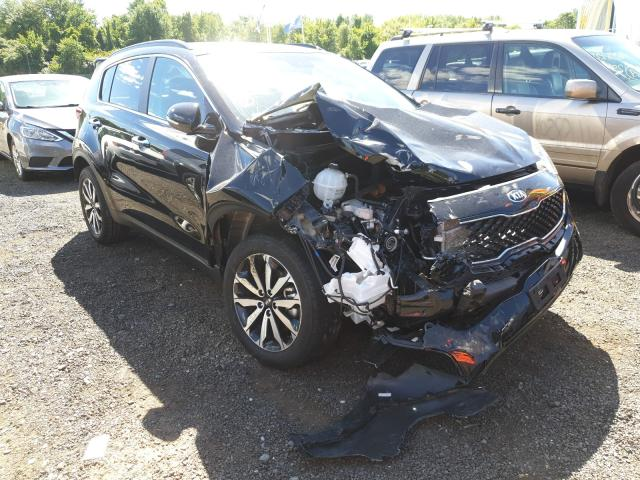 Salvage cars for sale from Copart East Granby, CT: 2019 KIA Sportage E