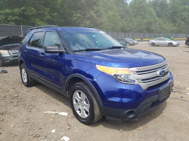 Salvage cars for sale from Copart Waldorf, MD: 2014 Ford Explorer