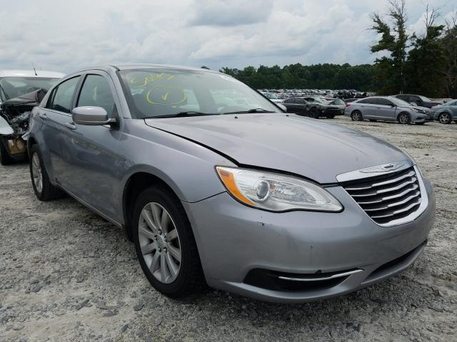 Salvage cars for sale from Copart Loganville, GA: 2013 Chrysler 200 Touring