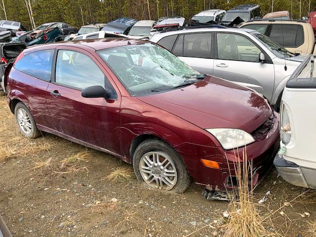 Salvage cars for sale from Copart Rocky View County, AB: 2007 Ford Focus ZX5