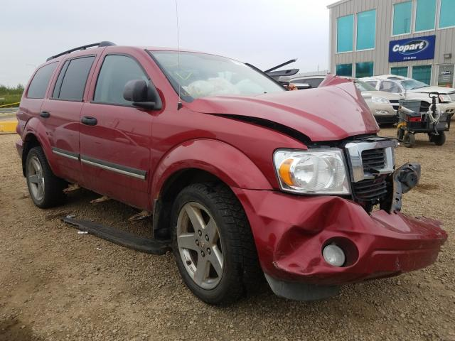 Dodge salvage cars for sale: 2008 Dodge Durango SL