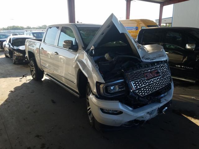 Salvage trucks for sale at Wilmer, TX auction: 2017 GMC Sierra K15