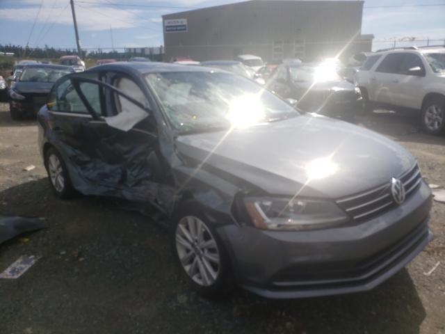 Salvage cars for sale from Copart Cow Bay, NS: 2017 Volkswagen Jetta SE