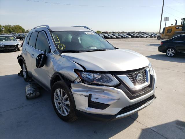 Salvage cars for sale from Copart Grand Prairie, TX: 2020 Nissan Rogue S