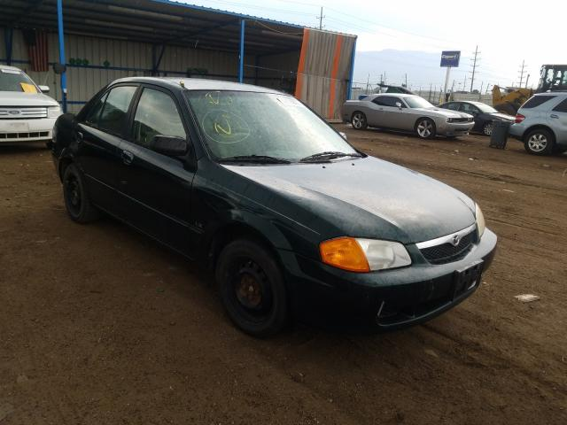 Salvage cars for sale from Copart Colorado Springs, CO: 2000 Mazda Protege DX