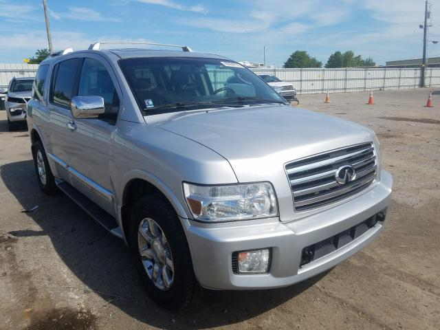 Salvage cars for sale from Copart Lexington, KY: 2006 Infiniti QX56
