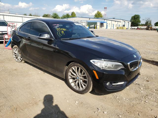BMW salvage cars for sale: 2016 BMW 228 I Sulev