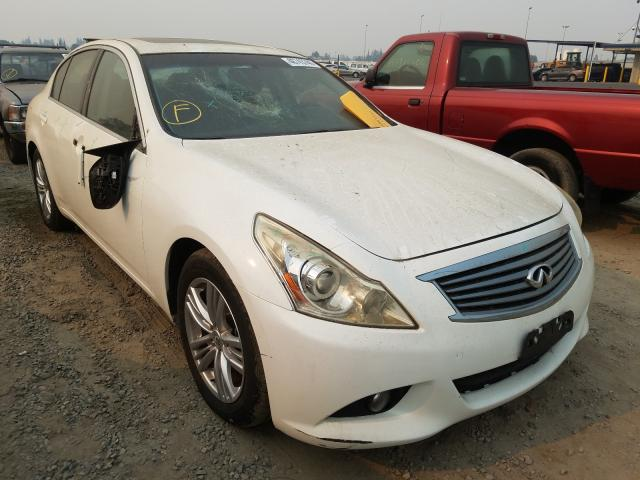 Infiniti G37 Base salvage cars for sale: 2012 Infiniti G37 Base