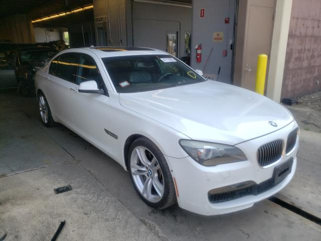 Salvage cars for sale from Copart Wheeling, IL: 2011 BMW Alpina B7