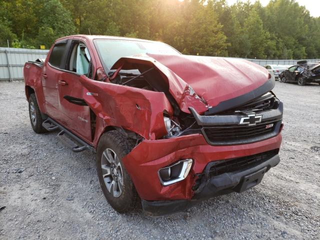 Salvage cars for sale from Copart Hurricane, WV: 2016 Chevrolet Colorado Z