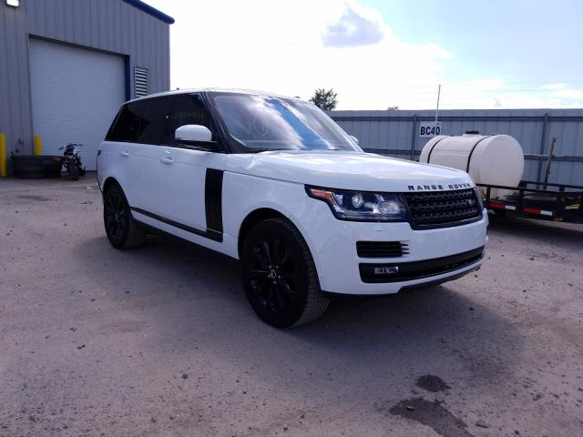 Salvage cars for sale from Copart Central Square, NY: 2016 Land Rover Range Rover