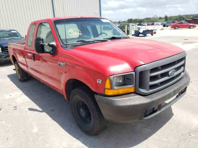 Ford F250 Super salvage cars for sale: 1999 Ford F250 Super