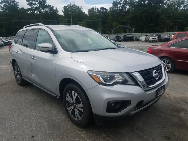 Salvage cars for sale from Copart Savannah, GA: 2017 Nissan Pathfinder