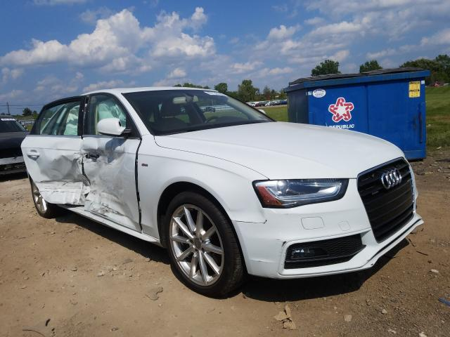 Salvage cars for sale from Copart Columbia Station, OH: 2016 Audi A4 Premium