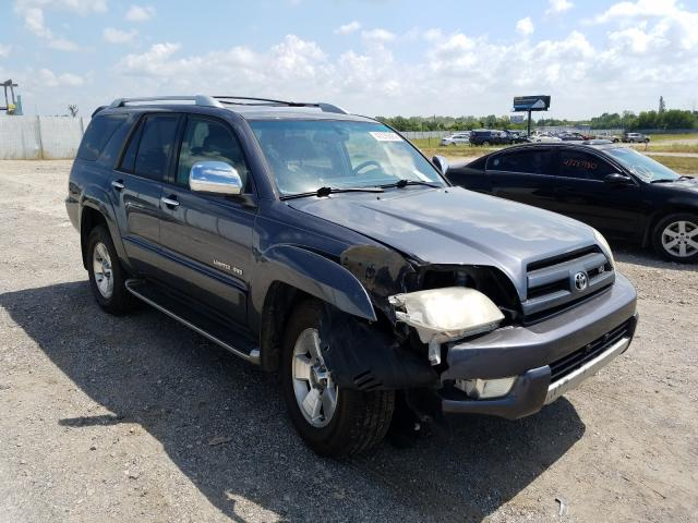 Toyota 4runner LI salvage cars for sale: 2004 Toyota 4runner LI