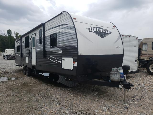 Avenger salvage cars for sale: 2018 Avenger Travel Trailer