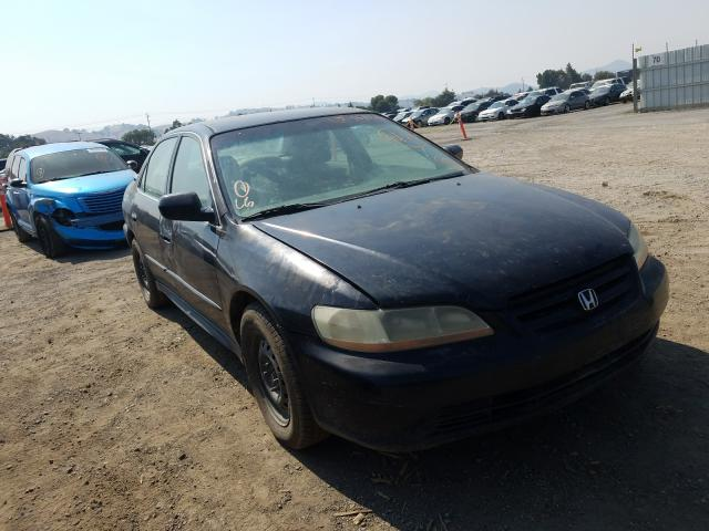 Salvage cars for sale from Copart San Martin, CA: 2002 Honda Accord LX