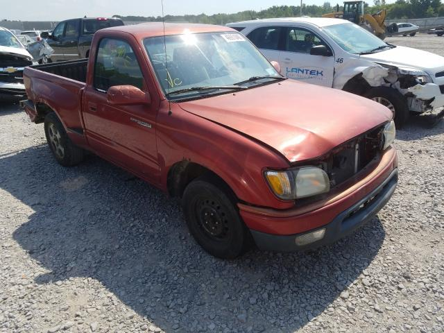 Salvage cars for sale from Copart Leroy, NY: 2001 Toyota Tacoma