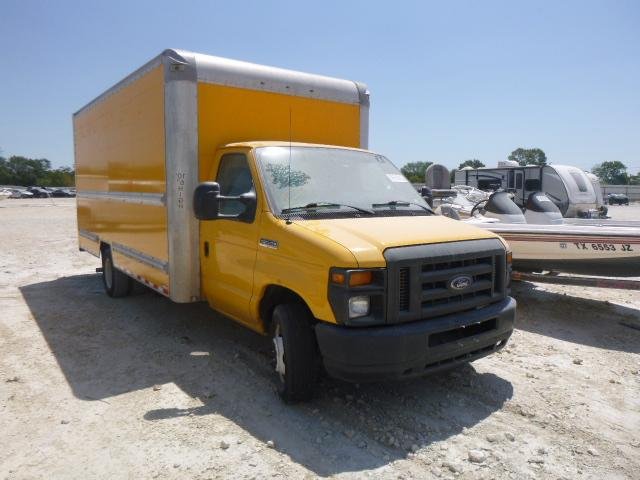 Salvage cars for sale from Copart New Braunfels, TX: 2015 Ford Econoline