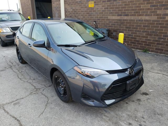 Salvage cars for sale from Copart Wheeling, IL: 2019 Toyota Corolla L