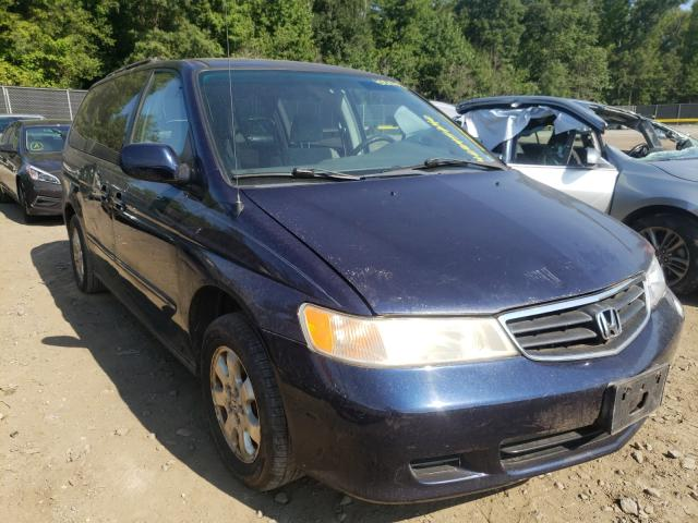 Salvage cars for sale from Copart Waldorf, MD: 2004 Honda Odyssey EX