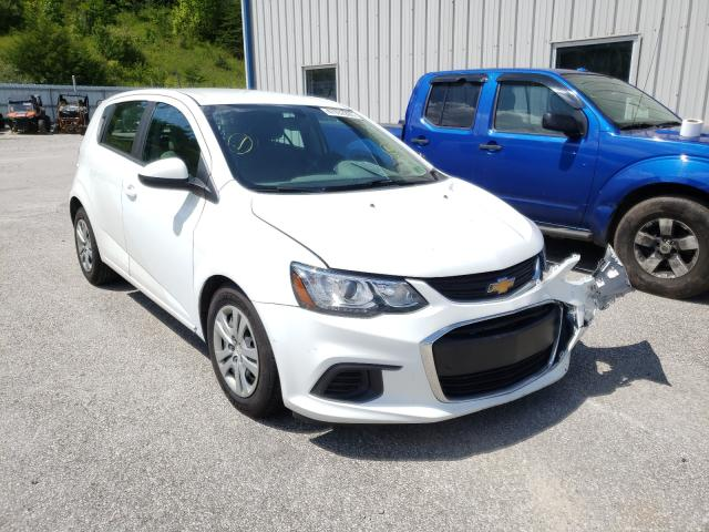 Chevrolet Sonic salvage cars for sale: 2018 Chevrolet Sonic