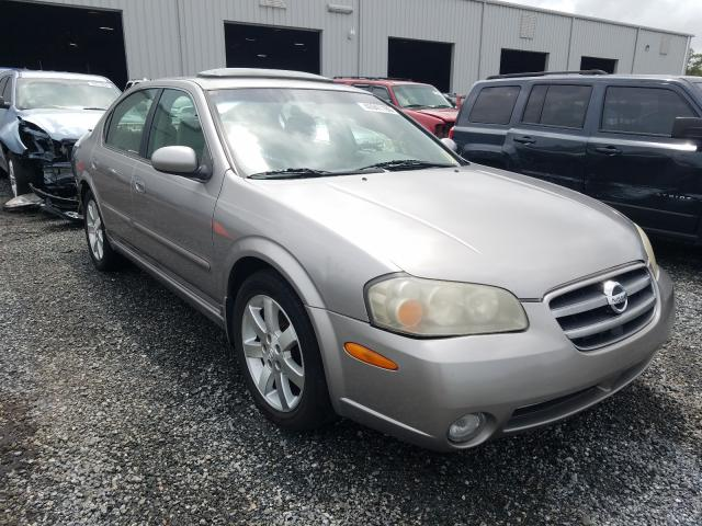 Nissan Maxima GLE salvage cars for sale: 2003 Nissan Maxima GLE