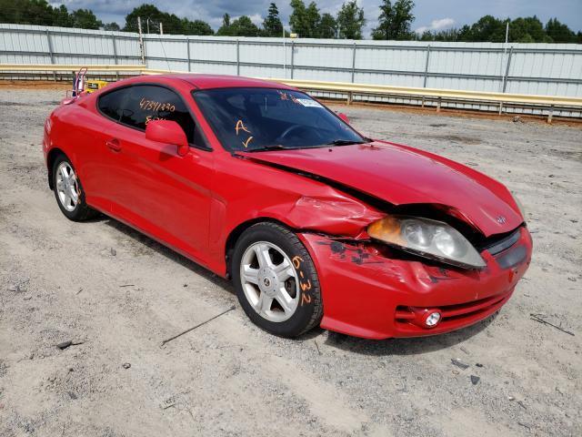 2004 hyundai tiburon coupe 2 0l gas red للبيع chatham va kmhhm65d44u139595 a better bid a better bid car auctions
