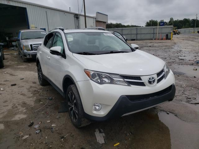 Toyota Rav4 Limited salvage cars for sale: 2015 Toyota Rav4 Limited