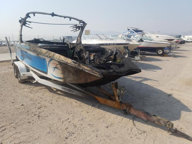 Tiger salvage cars for sale: 2015 Tiger Boat With Trailer
