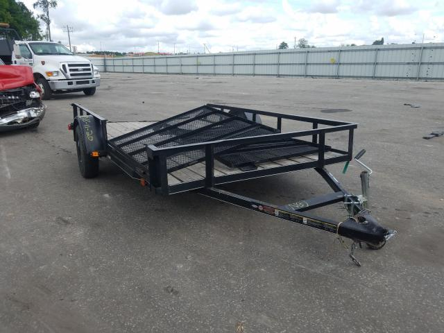 Utility Trailer salvage cars for sale: 2018 Utility Trailer