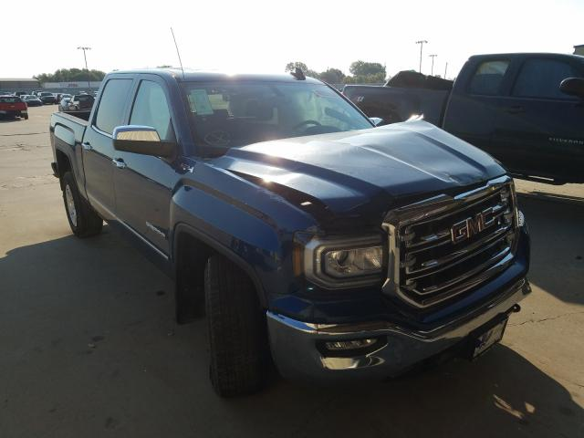 Salvage cars for sale from Copart Wilmer, TX: 2018 GMC Sierra K15