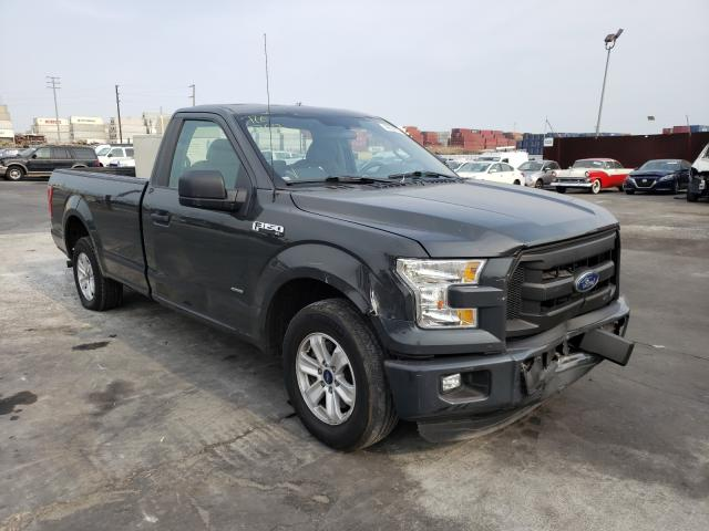 Salvage cars for sale from Copart Wilmington, CA: 2016 Ford F150