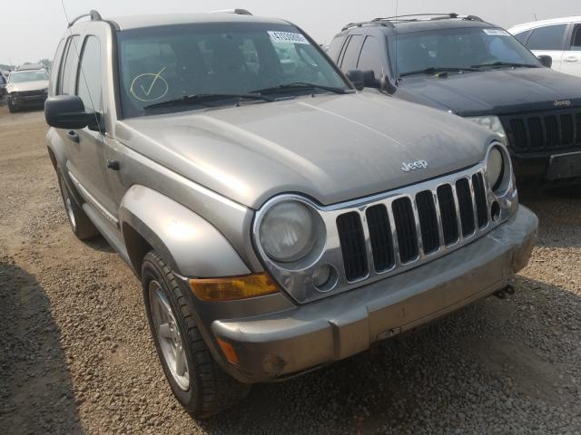 Salvage cars for sale from Copart Brighton, CO: 2007 Jeep Liberty LI