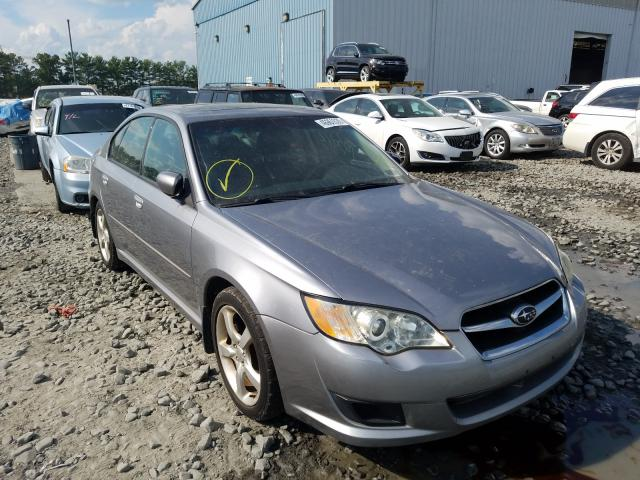 Salvage cars for sale from Copart Windsor, NJ: 2009 Subaru Legacy 2.5