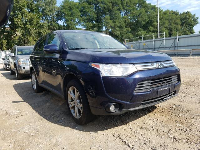 Salvage cars for sale from Copart North Billerica, MA: 2014 Mitsubishi Outlander