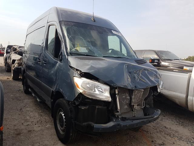Salvage cars for sale from Copart Houston, TX: 2019 Mercedes-Benz Sprinter 2