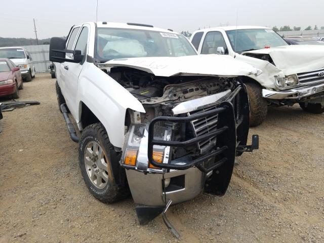 Salvage cars for sale from Copart Anderson, CA: 2015 Chevrolet Silverado
